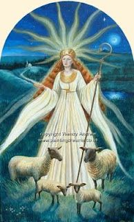 In Celtic religion and Irish mythology, Brigit or Brighid is the daughter of the Dagda and one of the Tuatha Dé Danann.
