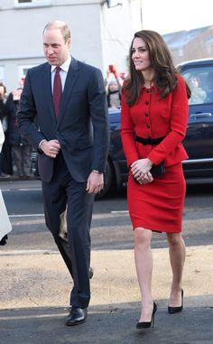 Prince William, Duke of Cambridge, and Catherine, Duchess of Cambridge, February 6, 2017