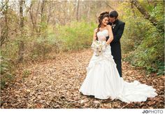 Fall and Winter Wedding Venue Photo Galleries of Dara's Garden in Knoxville, TN.