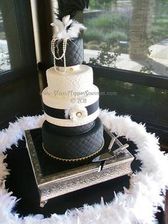 Coco  Chanel Cake by Glass Slipper Gourmet