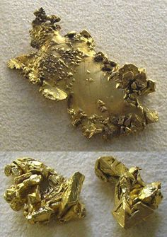 gold nuggets / Mineral Friends <3
