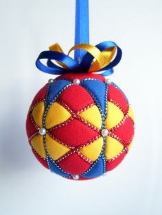 Kimekomi Christmas Ornament by Ornament Designs