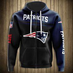 New England Patriots Hoodie, Patriots Team, Zip Hoodie, Pullover, Sports Shops, Mens Clothing Styles, Hoodies, Sweatshirts, Types Of Sleeves