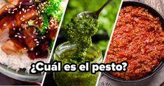 Solo la gente con buen gusto ha probado más de 11 de estas salsas Pesto, Salsa Alfredo, Chili, Soup, Beef, Quizzes, Buzzfeed, Tastefully Simple, Sauces