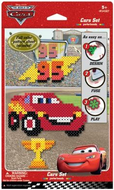 Perler Disney Fuse Bead Activity Kit-Cars $30.28 (57% OFF)
