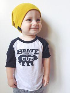 Brave Little Bear Cub Baseball Tee, Toddler shirt, Trendy kids clothes, Hipster t-shirt, kids shirt, Graphic Tee, Kids Shirt, Baby Shirt by WildExplorers on Etsy https://www.etsy.com/listing/193277699/brave-little-bear-cub-baseball-tee