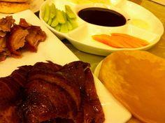 北京烤鸭 (běi jīng kǎo yā)  Beijing's famous roast duck - one of the Catalai team's favourite way to spend a Friday night