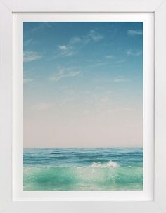Malibu Surf and Sky II by Kamala Nahas at minted.com