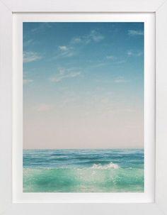 Malibu Surf and Sky II by Kamala Nahas at minted.com