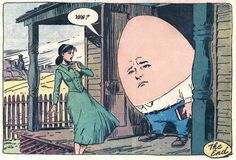 """Johnny's Father - Sam Glanzman illustration featured in the comic, House of Secrets, No. 91 (May, (image via chronikigothama) """"Please Don't Cry, Johnny is a three-page tale about a little bald-headed boy who doesn't appreciate being picked on. Old Comics, Vintage Comics, Funny Comics, Art Pulp Fiction, Pulp Art, Comic Books Art, Comic Art, Illustrations, Illustration Art"""