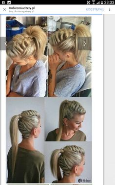 Twisted Crown Braid - 38 Quick and Easy Braided Hairstyles - The Trending Hairstyle Pretty Hairstyles, Girl Hairstyles, Braided Hairstyles, Wedding Hairstyles, Short Hair Styles, Natural Hair Styles, Hair Dos, Hair Designs, Hair Hacks