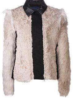 LANVIN Lamb Fur Jacket