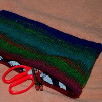 Knit Pencil Bag