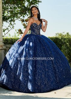 - Classically beautiful shining sequin tulle ball gown with a strapless sweetheart neckline, fully crystal beaded bodice and lace up back closure. The gown finishes with a sweep train. The matching jacket is included.