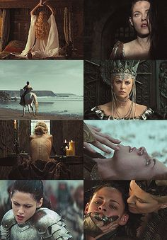 a list of favorite fairytale adaptations:Snow White and the Huntsman, USA, 2012