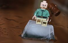 The Adventures of a Lego man.