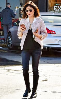 Love Lucy Hale's simple but cute casual look
