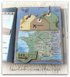 scrapbook ideas for couples travel Travel Journal Scrapbook, Vacation Scrapbook, Scrapbook Titles, Photo Album Scrapbooking, Scrapbook Page Layouts, Photo Layouts, Couple Scrapbook, Travel Journals, Digital Scrapbooking