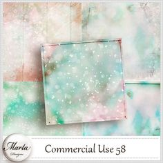 Commercial Use 58 | Marta Designs