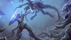 Starcraft Zerg, Stars Craft, My Favorite Image, Monsters, Gaming, Around The Worlds, Creatures, Fan Art, Cats