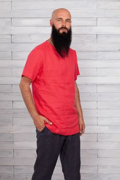 #longsleeveshirt #menshirts #mensshirt #linenmenshirt #linenmanshirts #flaxshirtsmen #flaxshirt #linenshirtsformen #softlinenshirts #shirtsmengift #linenmensclothes  #linocolore Longsleeve, Boys Shirts, Just For You, Rompers, Pure Products, Mens Tops, T Shirt, Stuff To Buy, Etsy