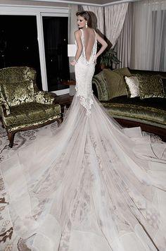 Would you wear this unique Galia Lahav wedding dress?