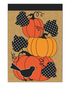 Take a look at this Pumpkin Stack Outdoor Flag today!