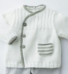 New knitting patterns boys sweaters girls Ideas Crochet For Boys, Knitting For Kids, Crochet Baby, Start Knitting, Baby Knitting Patterns, Baby Patterns, Kimono Pattern, Crochet Cardigan Pattern, Bra Pattern