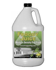 Froggy's Fog Froggy's Juice - Fluids - Fog, Haze, Bubble, Snow Machines - Lighting