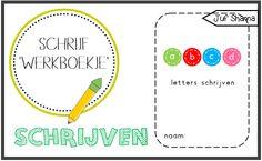 Juf Shanna: Letters schrijven ('werkboekje') School, Kids, Writing Fonts, Young Children, Boys, Children, Boy Babies, Child, Kids Part