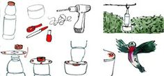 How to Make Your Own DIY Hummingbird Feeder Using Recyclable Materials « The Secret Yumiverse