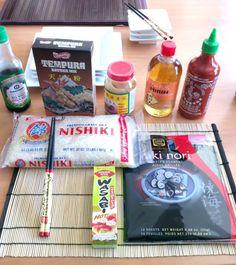 Making Homemade Sushi   WholesomelyHomemade.com