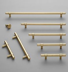Browse the Sommerville hardware collection at Rejuvenation to shop for knobs, drawer pulls and handles in a range of sizes and finishes. Kitchen Drawer Pulls, Brass Kitchen, Kitchen Cabinet Hardware, Kitchen Drawers, Kitchen Fixtures, Kitchen Cabinetry, Cabinet Knobs, Brass Drawer Pulls, Tudor Kitchen
