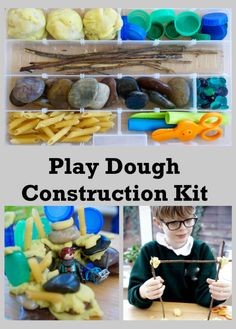 Simple to set up with basic household equipment. Great for toddlers, preschoolers and older children. Good for STEM challenges. Aboriginal Education, Play Dough Sets, Stem Challenges, Sensory Play, Toddler Activities, Toddlers, Crafts For Kids, Preschool, Household