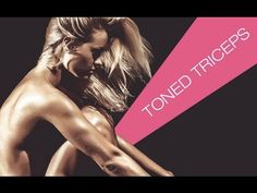 Get Rid of Underarm Flab (TONE THOSE TRICEPS!!) - YouTube
