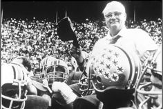 """""""You can never pay back, but you can always pay forward.""""    - Woody Hayes"""