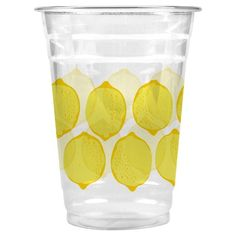 Cheeky Home® Whole Lemons Cold Cups   Set your table in style! Whitney Port for Cheeky® is a limited-edition collection of disposable tableware available exclusively at Target. Together, Cheeky and Whitney hope to inspire people to put their phones down and enjoy special moments together at any table. More importantly, with every pack of Whitney Port for Cheeky you buy, Cheeky will give a meal to someone in need  here in the U.S.