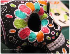 painted sugar skull