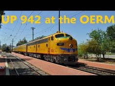 Union Pacific Cheyenne Frontier Days Train in 2015 with E9's and 6936 - YouTube