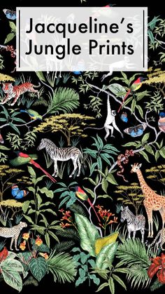 Jungle Pattern, Animal Habitats, Jungle Print, Amazon Rainforest, Over The Moon, Repeating Patterns, Natural World, Colored Pencils, Pattern Design