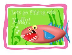 Fishing with Kelly!  Storyboard Artist and Illustrator: Mike Sobey