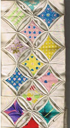 Pictures of Quilts with a Circular Theme: Memories of Grandma Quilt