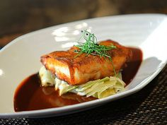 Recipe for Flying Fish Cafe's signature dish: Potato-wrapped Red Snapper - I had this on our recent anniversary trip to WDW -- it was wonderful!