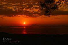 Etna Sunset by Trefla #travel #traveling #vacation #visiting #trip #holiday #tourism #tourist #photooftheday #amazing #picoftheday