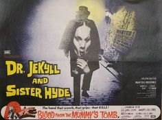 Dr. Jekyll and Sister Hyde - Hammer Horror