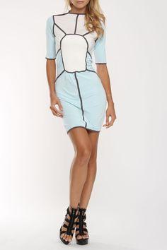Nuvula Pleasant Paneled Dress