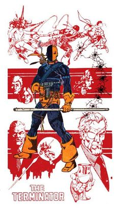 Deathstroke the Terminator by George Perez