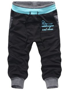 SoEnvy Men's Casual Harem Training Jogger Sport Short Baggy Pants Medium Black 1 Material: cotton, 65 polyester Brand New with Tag High quality materials and stretchable,comfortable to wear Hand wash, Dry clean Fashionable design Swag Outfits Men, Baby Boy Outfits, Kids Outfits, Casual Outfits, Men Casual, Fashion Niños, Jogging, Boys Joggers, Baby Kind