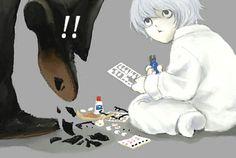 Death Note Fanart, Nate River, Cute Anime Guys, Anime Boys, L Lawliet, Book Works, Shinigami, Emo Boys, Anime Angel