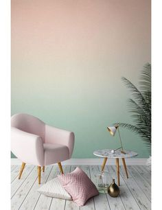 Mix your fav colours to create your unique Ombre Effect wall paint!